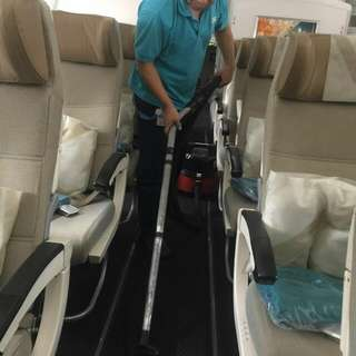 AIRCRAFT INTERIOR CLEANER