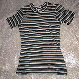 H&M Stripes top (body fit)