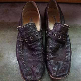Steve Madden Leather Loafers Made in Italy