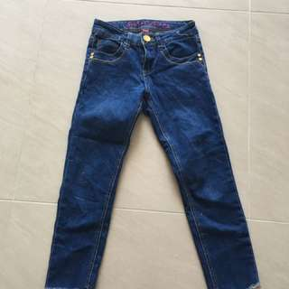 Petite Cropped Jeans