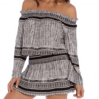 MINKPINK casablaca Off Shoulder Dress !! NEW