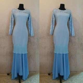 Dusty Blue Dress