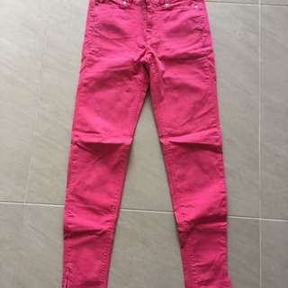 Zara Pink Skinny Jeans