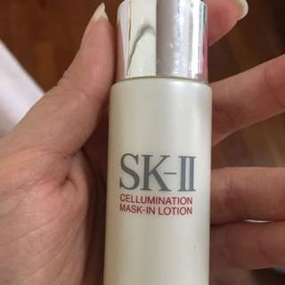 Sk2 Cellumination Mask In Lotion 30ml