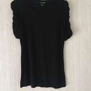 Crystal Princess Tops Size M By Forever21