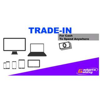 Trade in Get Cash for your laptops