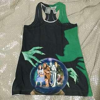 MANGO Wizard of Oz tank top