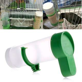 (BN) Bird Pet Drinker Feeder Food Water Clip for Aviary Cage Budgie Lovebirds Parrot Bird Birds #UOBPayNow Suitable for birds and hamster / hamsters / guinea pig / pigs / rodent