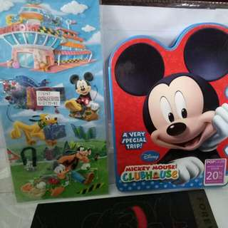 Mickey Mouse Book & Sticker $5