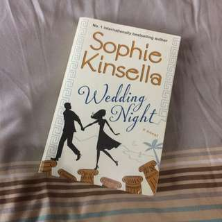Wedding Night By Sophie Kinsella
