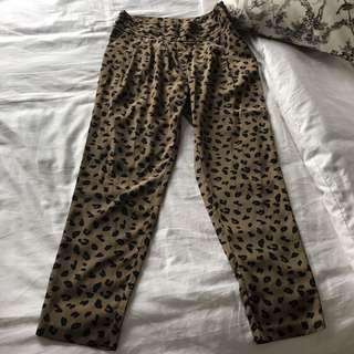 Forever 21 Leopard Print Pants