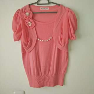 Blouse Pink Halus