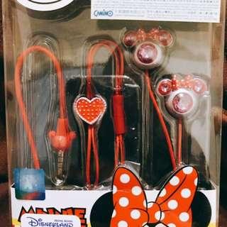 迪士尼 米妮耳機