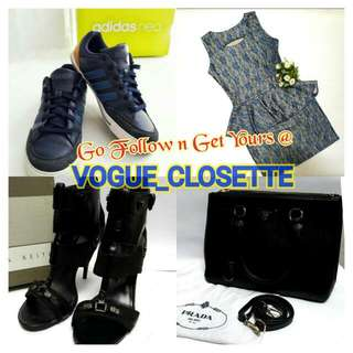 Yuk Bro Sis, FOLLOW n SHOPPING @VOGUE_CLOSETTE yaa