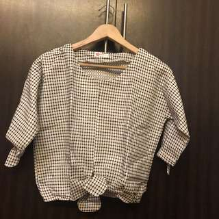 Unbranded Knot Blouse