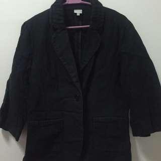 Bossini Black Denim Coat/jacket