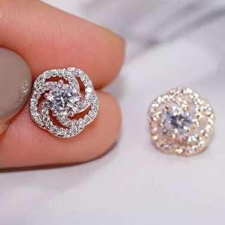 925 Silver Zircon Diamond