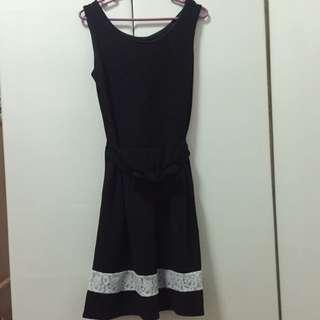 Black Dress W/ Lace