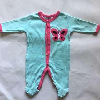 Preloved NEXT Bean Jumpsuit Jumper Sleepsuit newborn