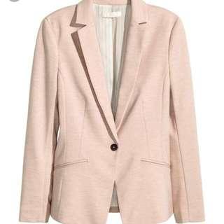 H&M Nude/Pink Blazer