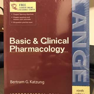 Basic & Clinical Pharmacology 9th edition