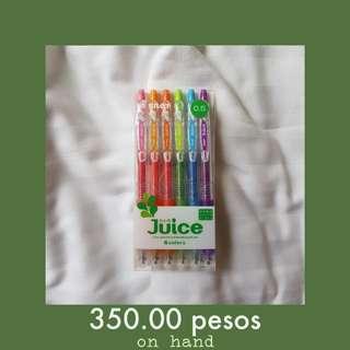 Pilot Juice Gel Pen 0.5mm- 6 Color Set