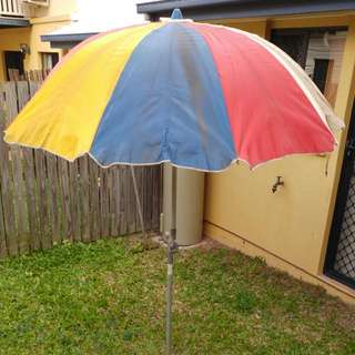 Vintage Outdoor Umbrella Shadewell By Namco
