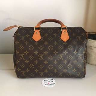 Authentic Pre-owned Louis Vuitton Speedy 30