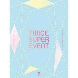 [PO] TWICE SUPER EVENT DVD