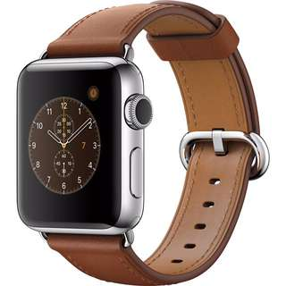 Apple Watch 2016 Stainless Steel42mm Classic Buckle Saddle Brown