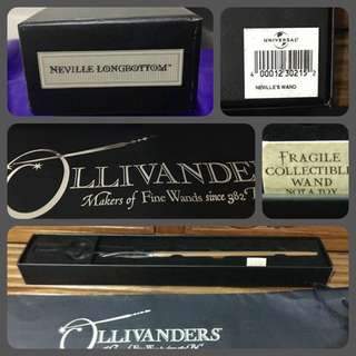 Harry Potter Collectibles Part 3:  Neville Longbottom's wooden wand