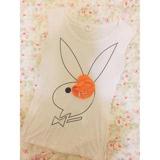 🚚 個性兔一朵花