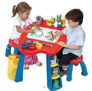 Crayola Creativity Play Station Desk & Chair