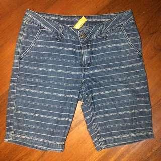 F&H Printed Denim Shorts