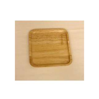 {FOR RENT} *New* Square Wooden Tray Plate for Baby Shower and Birthday