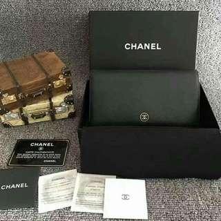 缺錢便宜賤賣!!!Chanel牛皮對開皮夾