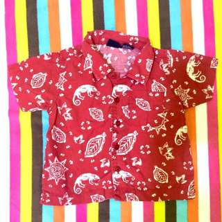 Preloved Cherokee Polo For Baby