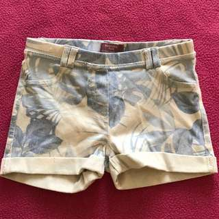 MANGO KIDS Floral Short Pants