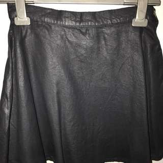 dricoper sandy leather skirt