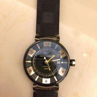 路易威登 (Louis Vuitton) Tambour GMT Automatic Watch Q113KO  K金回收 免費鑑定