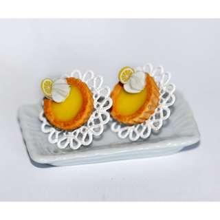 Lemon Pie Earrings (184)