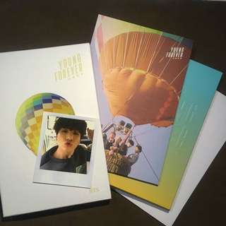 BTS Young Forever Album Day Version With Jungkook Pc