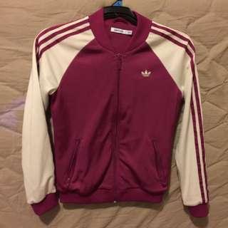 Adidas Bomber Track Jacket Size 10