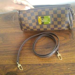 Louis Vuitton Eva Clutch Damiere Ebene
