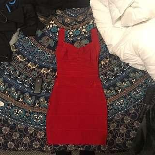 Scarlett Red Dress