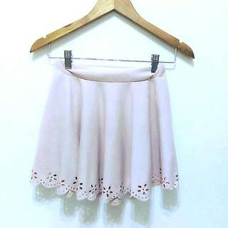 🔥降🔥優雅彈性鏤空雕花短裙