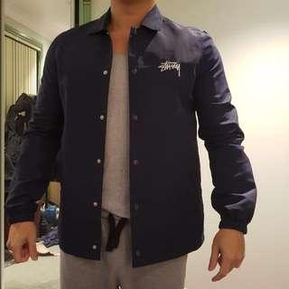 Stussy Spray Coach Jacket Size S