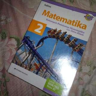 Buku  Matematika Erlangga Kelas 2 SMA KURIKULUM 2013