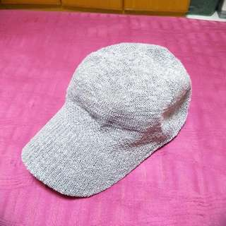 New Grey Knitted Korea Cap