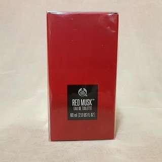The Bodyshop Eau De Toilette (EDT) Red Musk